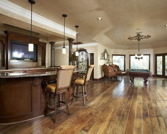 Hardwood Floor Ideas find this pin and more on dustless refinishing of wood floors Beautiful Room And Used The Long Lenths In Walnut Hardwood Flooring To Their Advantage To Make