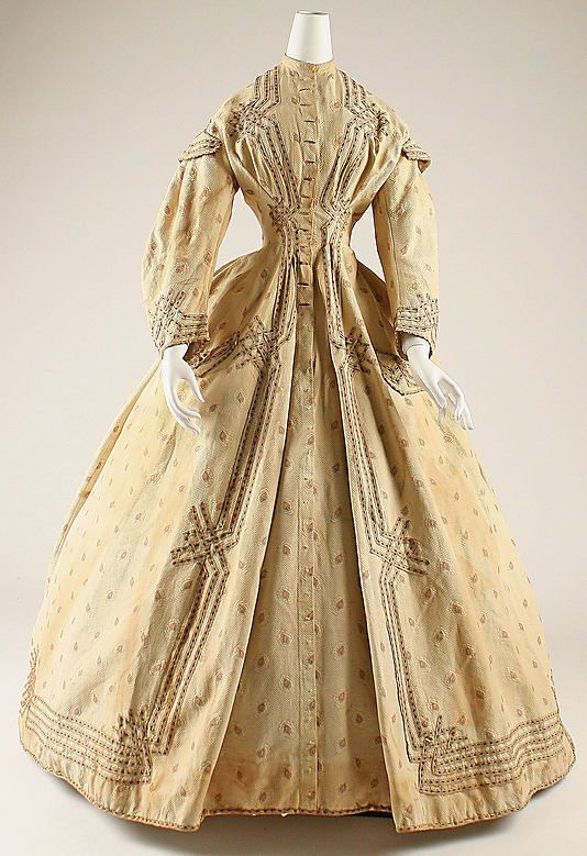 Dressing Gown 1860, American