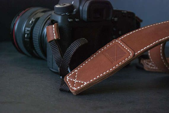 DSLR Camera strap Leather camera strap CANON camera strap