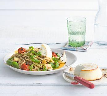 Pasta met ricotta en geroosterde groenten - Recept - Jumbo Supermarkten