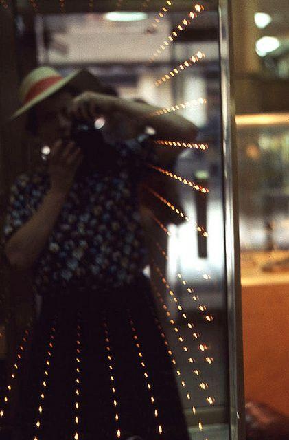Vivian Maier - Untitled, Self Portrait (with Mirror Lights)