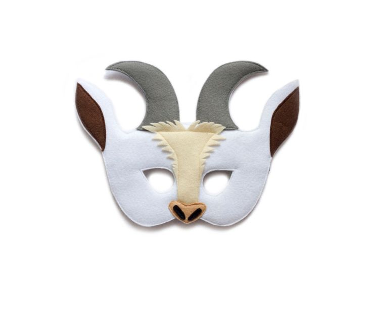 Image result for felt goat mask diy