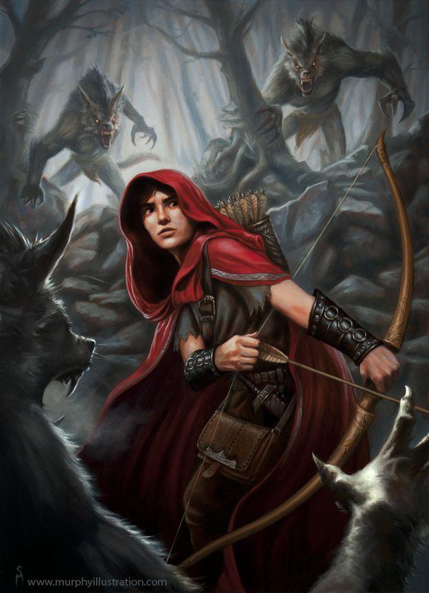 Riding Hood by Murphyillustration.deviantart.com on @deviantART