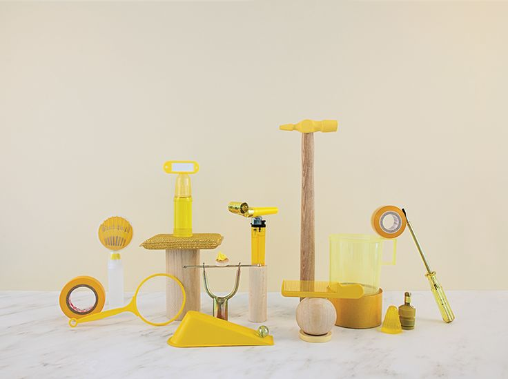 Installations of Small Sourced and Minutia of Everyday Objects by Dawn Ng