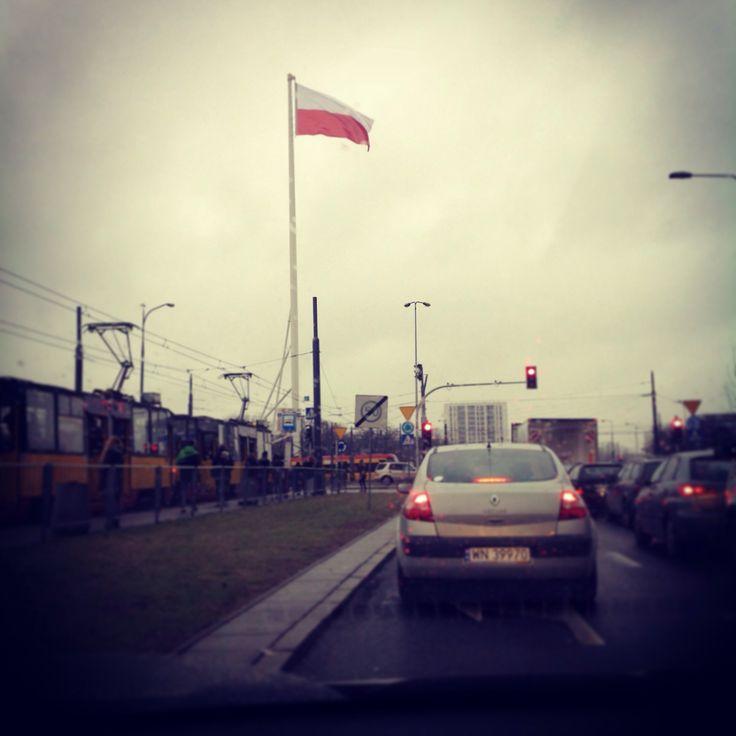 """rondabout """"Radosława"""", Warszawa"""