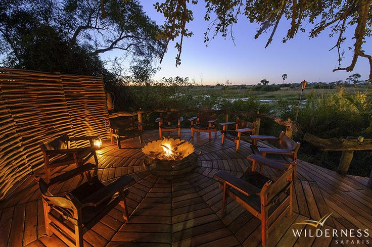 Little Mombo - Your own sala, large veranda and lounge area provide ample place to relax and enjoy the view. #Africa #Safari #Botswana