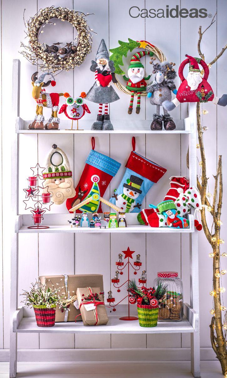 Cada detalle para esta Navidad, lo podrás encontrar en Casaideas. Dale sentido a tu Navidad #Decoración #Mesa #Hogar #Familia