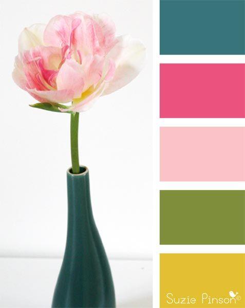 couleur de printemps