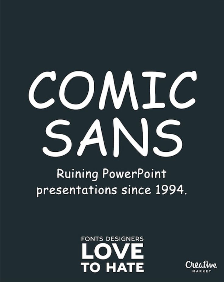 11 Fonts That Designers Love To Hate | UltraLinx