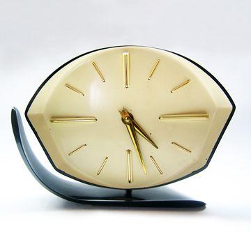 Midcentury Alarm Clock | novoreto Brno, Czech Rep.