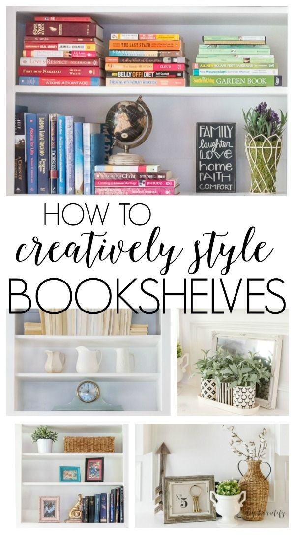 How To Creatively Style Large Bookshelves Bookshelves Diy Large Bookshelves Bookshelf Decor