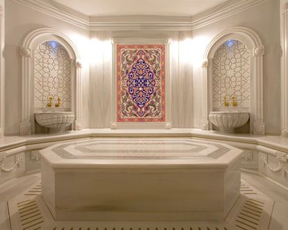 Beautiful tiled Turkish Bath - how dreamy to have one in your own home!