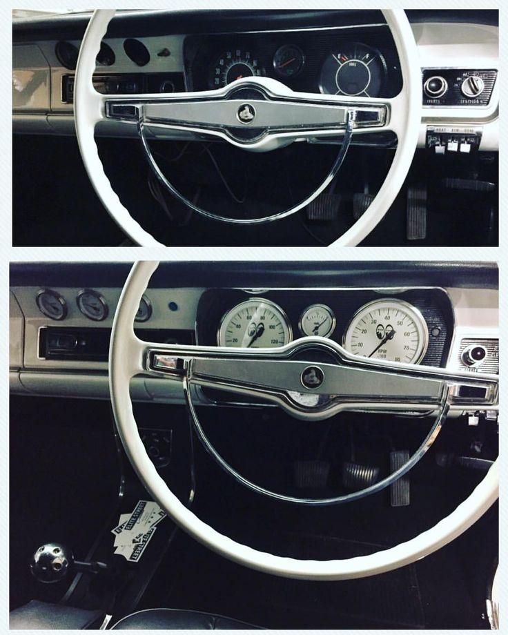 "26 Likes, 1 Comments - Elite Street Classics (@elitestreetclassics) on Instagram: ""Before & After gauge cluster work. Full set of moon gauges for the HR Panel Van project…"""