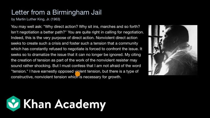 32+ Mlk letter from birmingham jail summary sparknotes inspirations