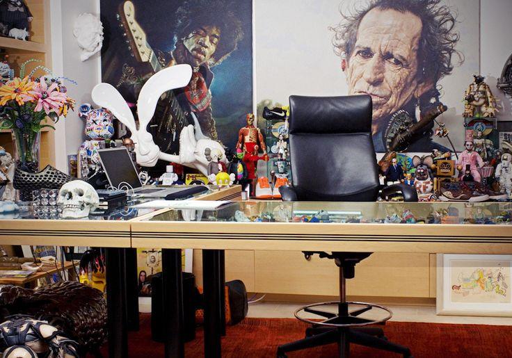 Dans le bureau irréel du PDG de Nike - http://www.leshommesmodernes.com/bureau-pdg-nike/