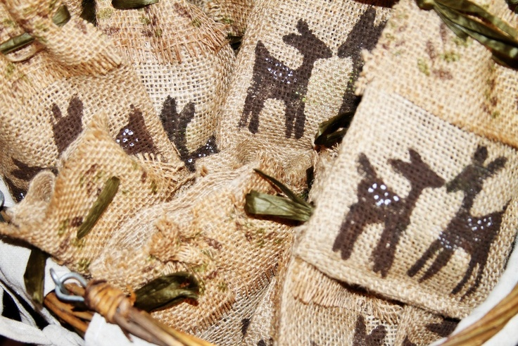 deer baby shower party favor bags more angie s deer deer baby showers