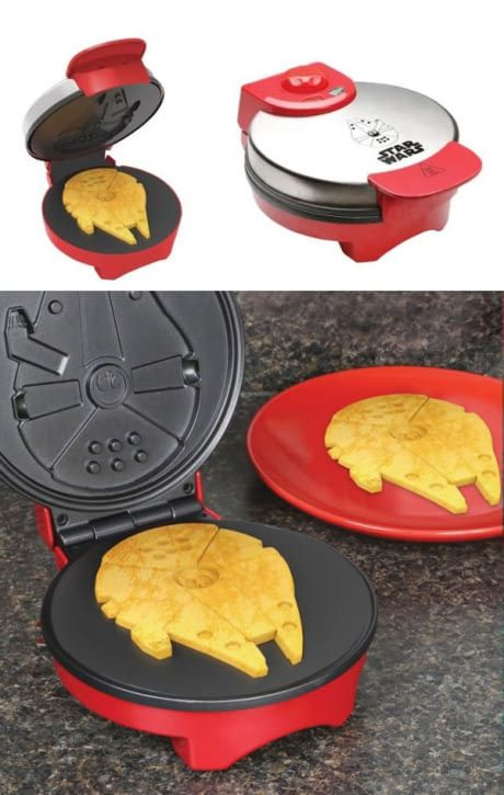 Millennium Falcon waffles are tasty enough for you, old man