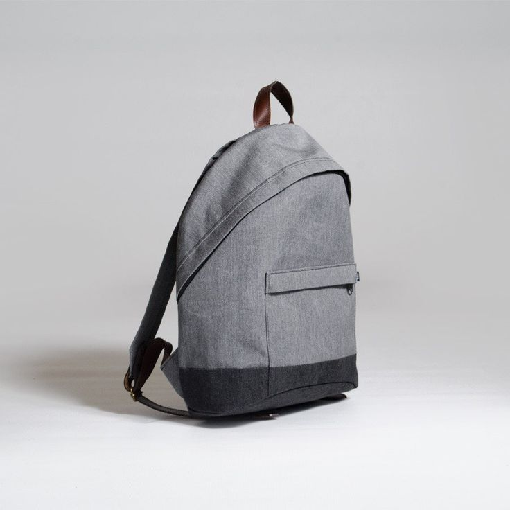 The Forge Daypack in smoke by Mother Co. Made in Canada  - $119