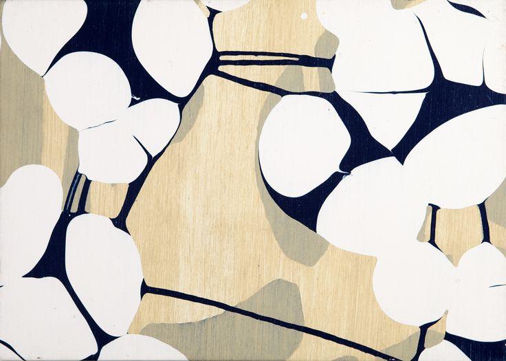 Jukka Mäkelä: Maalaus, 2003, akryyli, 50x70 cm - Hagelstam K131