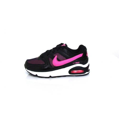 NIKE AIR MAX COMMAND (PS) black/pink De Nike Air Max Command is een sportieve sneaker voor kids.