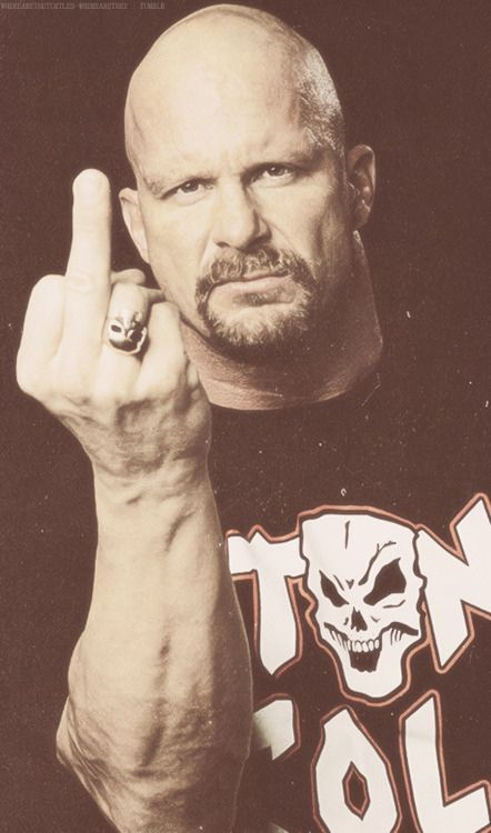The Texas Rattlesnake thinks he's number 1 - Stone Cold Steve Austin