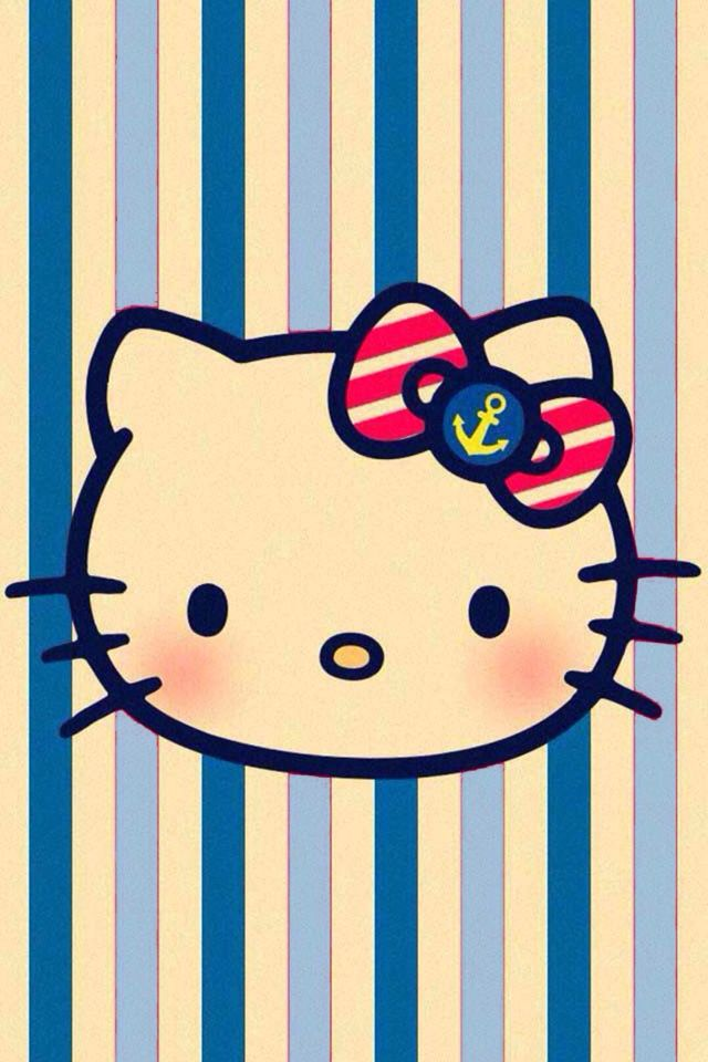 iPhone Wallpaper Hello Kitty Vintage