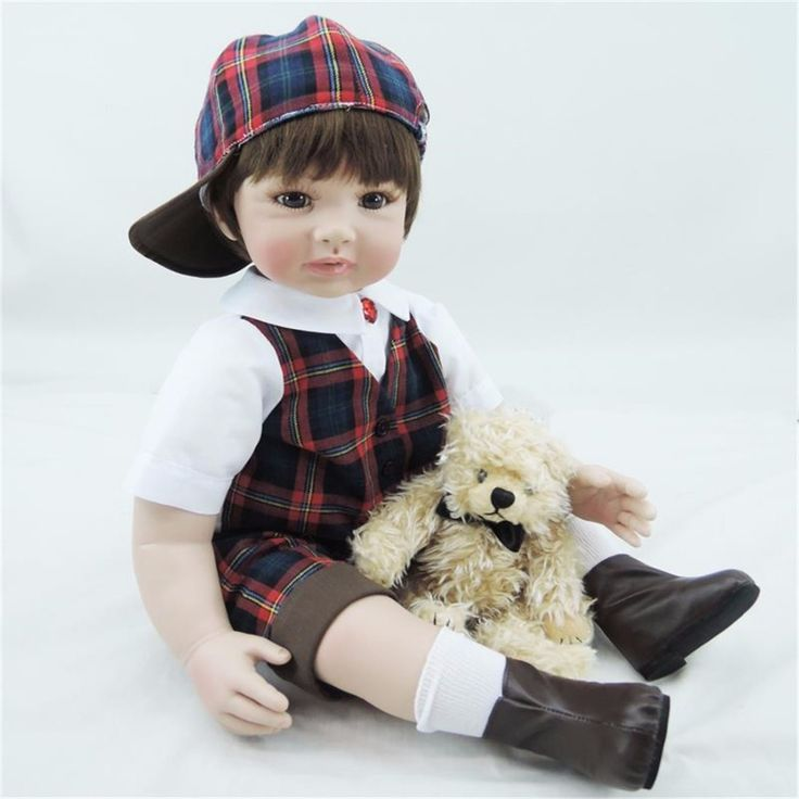 (106.59$)  Know more - http://ai70v.worlditems.win/all/product.php?id=32620638469 - 22 inches 55 cm silicone baby reborn dolls, lifelike dolls reborn baby boy toy gifts prince brinquedos children's toys!