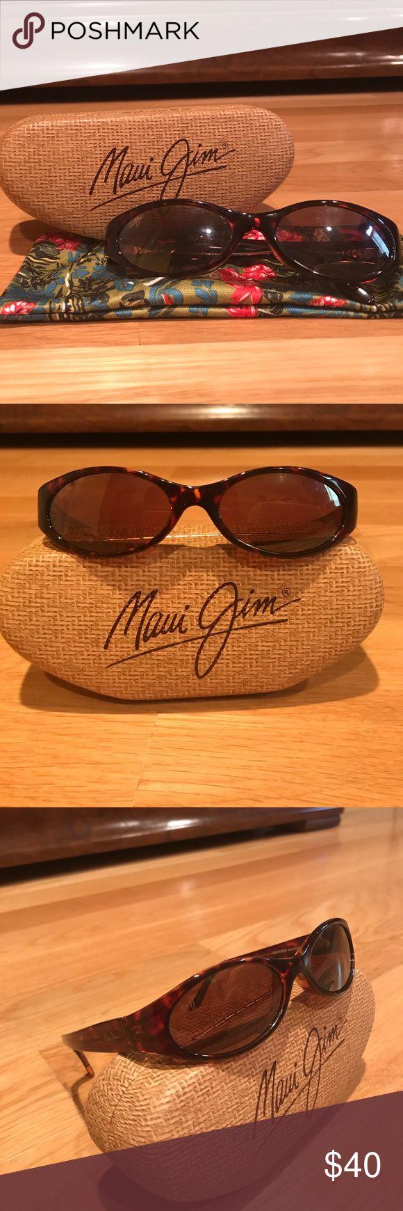 Tortoise Maui Jim Sunglasses Maui Jim Sunglasses AUTHENTIC** comes with case and dust bag Maui Jim Accessories Sunglasses