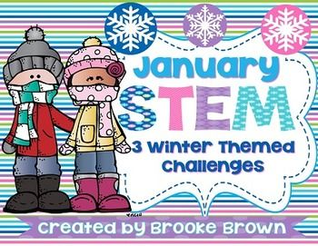 This winter themed STEM package is perfect to engage your little engineers in January! Three STEM challenges are provided and can be completed as stations or in isolation.STEM Challenges are designed to be completed in partners or small groups and include instructions, student recording forms, and supplements for the following 3 activities:*Sledding Ramp*Hibernation Station*Snowball StructureINTERESTED IN STEM FOR THE ENTIRE YEAR?!!