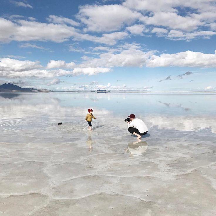 @arvowear #arvo #watch #saltflats #arvoclan #adventure #travel #arvovan #photography #family #son #dad