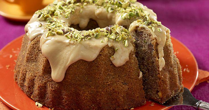 Mjuk kaka med banan, choklad och kaffe recept