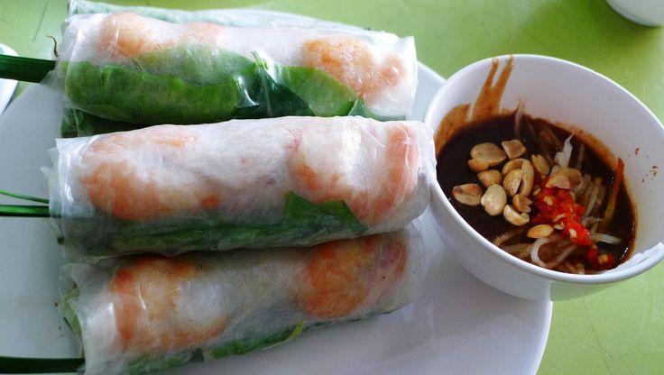 Goi Cuon - Fresh Spring Rolls/Summer Rolls/Salad Rolls