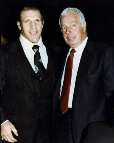 Bruno Sammartino and Joe DiMaggio.