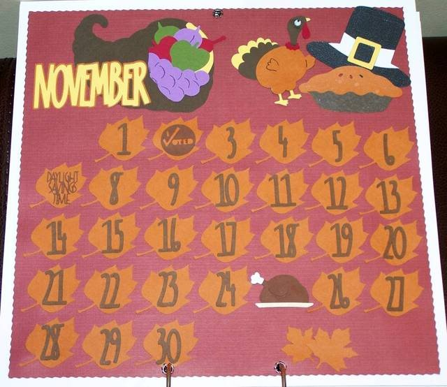 November Calendar Bulletin Board Ideas : Staff development bulletin board idea november calendar
