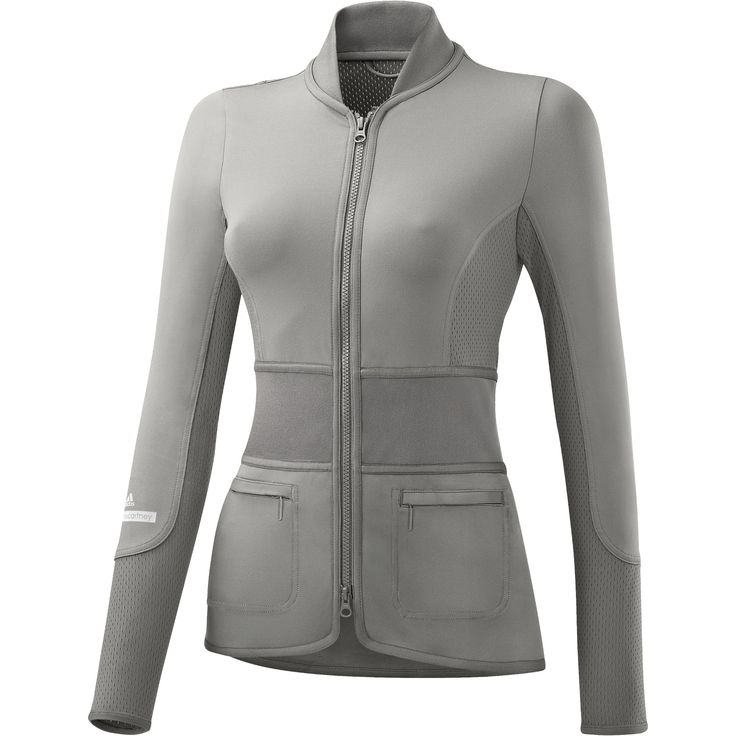Grey running jacket by Stella McCartney. Such a great cut, I'd wear this even if I'm not running!