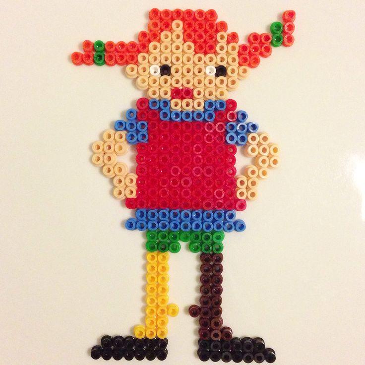 Pippi Långstrump hema beads by me
