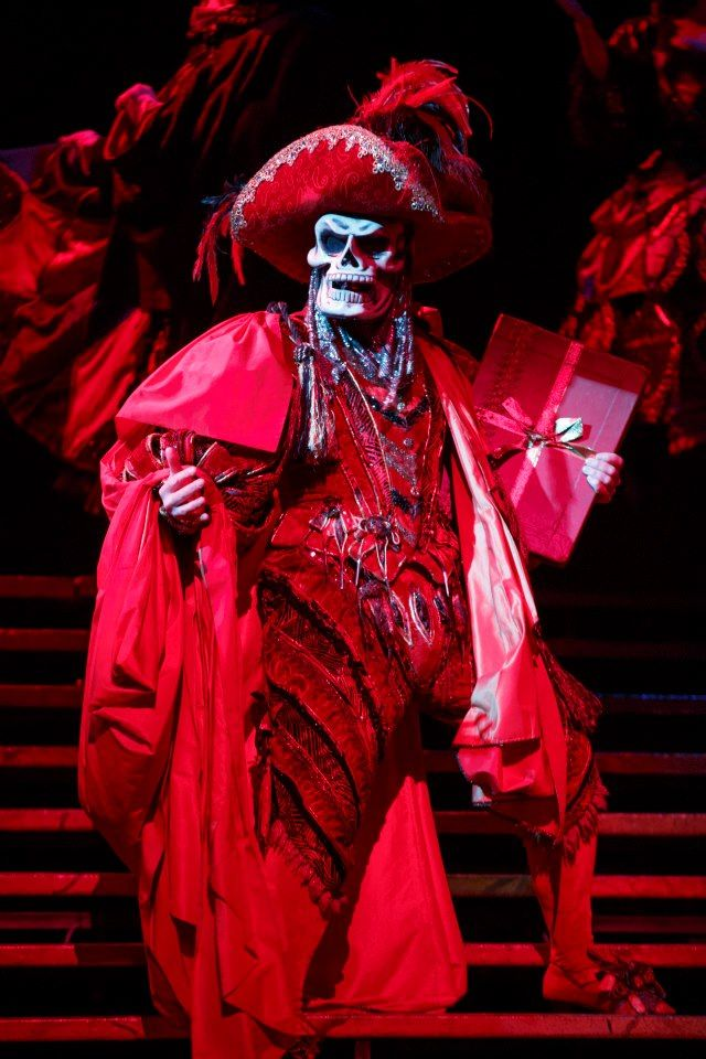 Phantom Tour Red Death Costume
