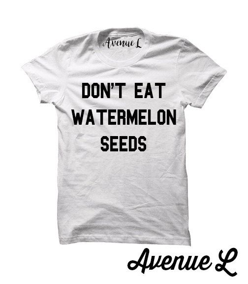 Don't eat watermelon seeds shirt mom to be shirt by TheAvenueL