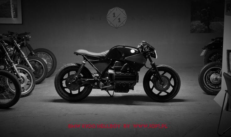 BMW K100 Hellboy - savage cafe racer built by Unikat Motorcycle.