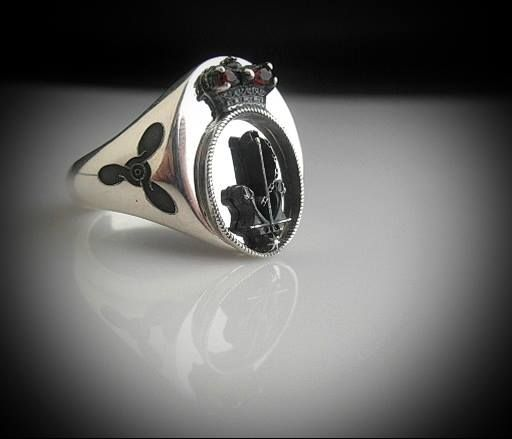 RAN Ring Oxidized Silver with any right arm rate to choose from