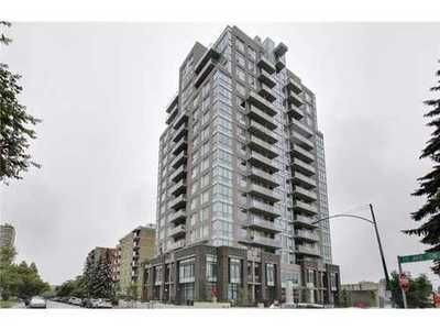 This sub-penthouse condo has fantastic city views and is one block from the best shopping, nightlife & culinary scene Calgary has to offer - to top it off - it's a short walk/cycle to the downtown core-sold to a new owner!