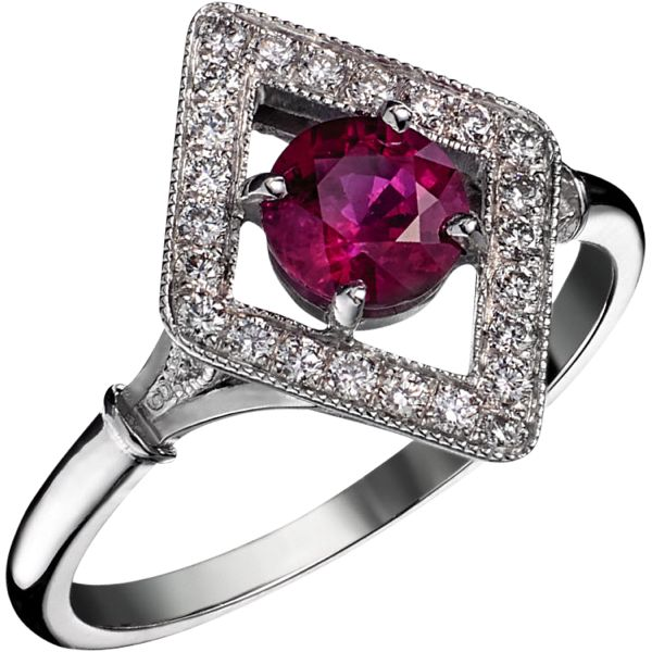 Célèbre 21 best Bague Rubis et Diamants images on Pinterest | Centre  BQ62