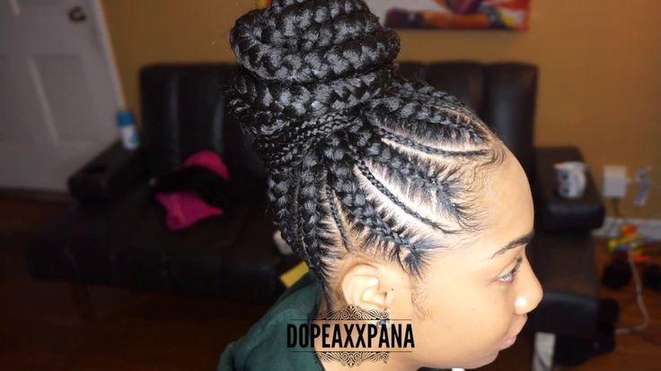 Hair Styles Feed In Braids: Best 25+ Ghana Cornrows Ideas On Pinterest