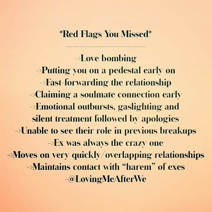 Red Flags Heartbreak Memes Cute Love Quotes For Him Soulmate Connection