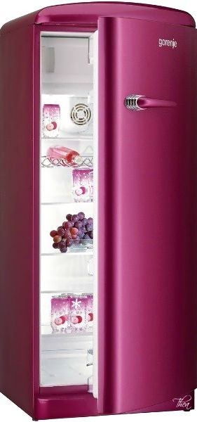 Maybe a mini fridge in pink for Gracie's room.