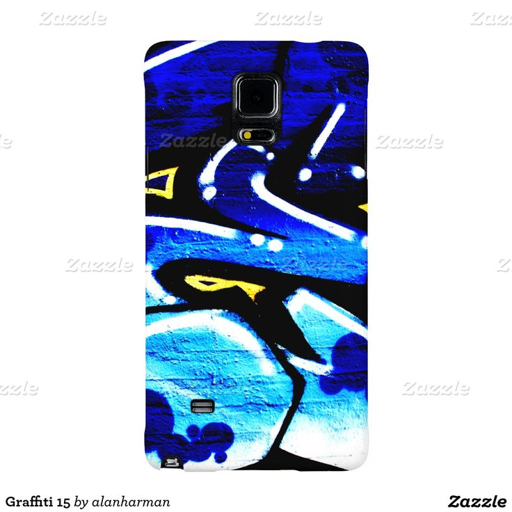 Graffiti 15 galaxy note 4 case