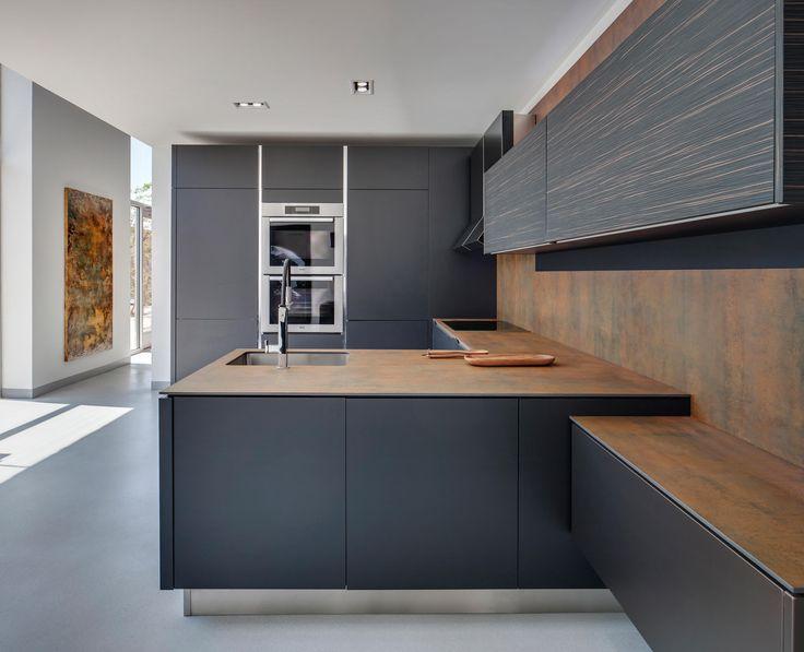 Kitchen   Iron Corten de Neolith   Panneaux