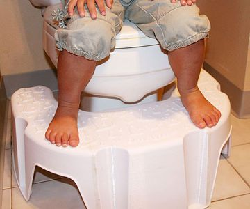 The Little Looster -- looks a lot like a squatty potty.