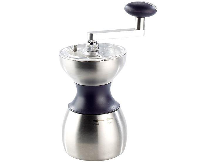 Rosenstein & Söhne Kaffeemühle mit Keramikmahlwerk