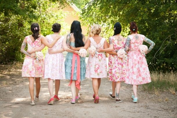 49 Best Images About Bridesmaids On Pinterest